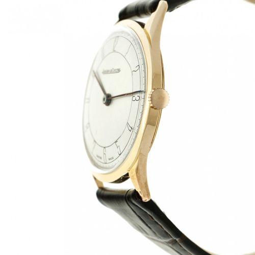Jaeger LeCoultre Men's watch apprx. 1960. Boîtier : or rose (18 kt.) bracelet : …