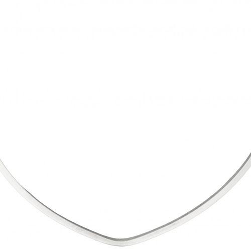 Silver Georg Jensen no.A1A modernist necklace 925/1000. Poinçons : 1915 / 1927 m…