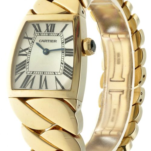 Cartier La Dona 2836 Ladies watch apprx. 2005. Boîtier : or jaune (18 kt.) brace…