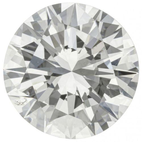 GIA Certified Brilliant Cut Diamond 2.44 ct. 重量:2.44克拉。(8.78 8.96 x 5.17 mm), 清晰…