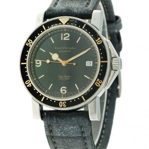 Girard Perregaux Sea Hawk 7100 Men's watch apprx. 1999. Boîtier : acier bracelet…
