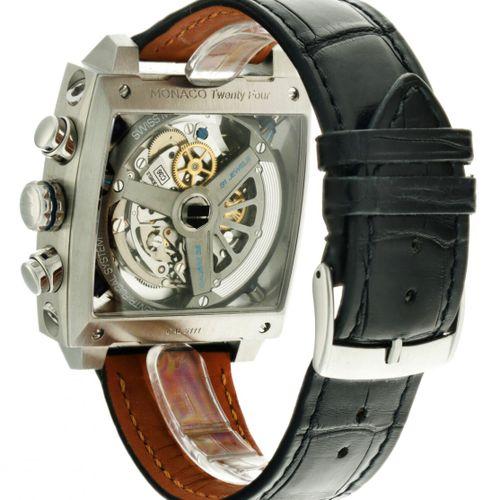 Tag Heuer Monaco 24 ''Steve McQueen'' CAL5111 Men's watch apprx. 2014. Boîtier :…