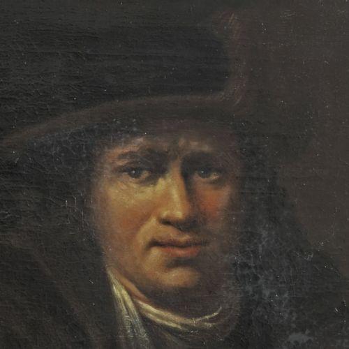 After Arent de Gelder (Dordrecht 1645 – 1727), Portrait of a man with halberd, a…