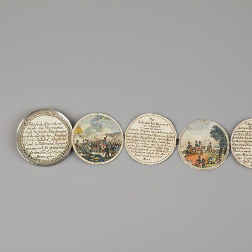 Johann Thomas Stettner (Nürnberg 1785 – 1872 Tiersdorf), A Steck medallion/ Stec…