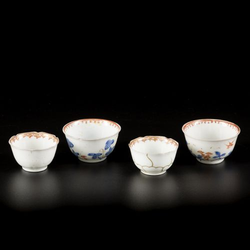 A lot comprising various porcelain with famille rose decor, China, 18th century.…