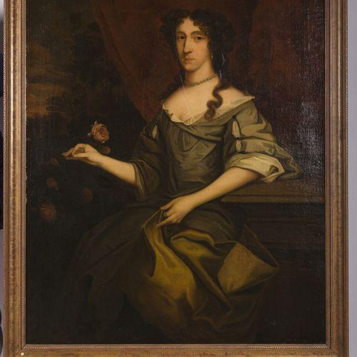 Dutch School, ca. 1700. Portrait of a noble lady 布面油画,无签名。Dim.128 x 100厘米。估计:400…