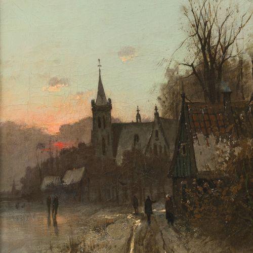 "Adrianus Johannes ""Ad"" van der Kok (Schoonhoven 1901 1963 Amsterdam), A village …"