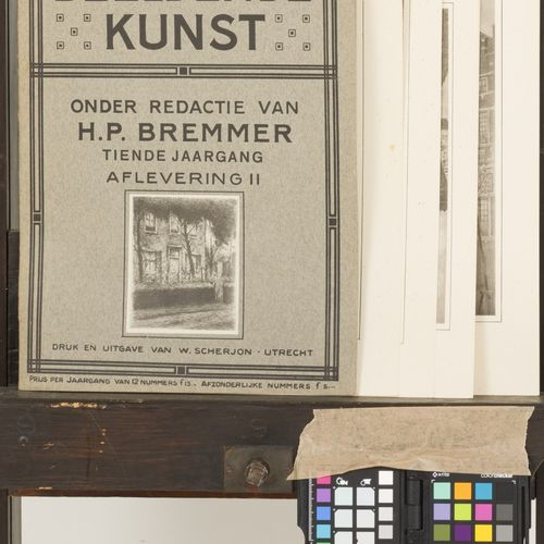Eduard Karsen (Amsterdam 1860 1941), A portfolio with (7) various etchings. Tous…