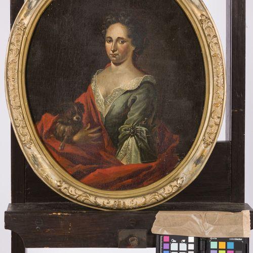 Follower of Aert Schouman (Dordrecht 1710 1792 Den Haag), Portait of a lady and …