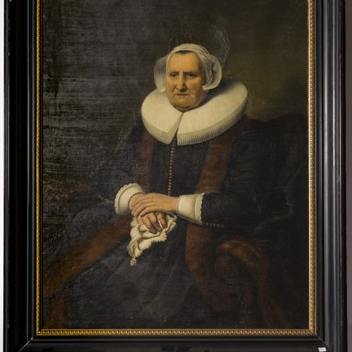 After Ferdinand Bol (Dordrecht 1616 1680 Amsterdam), Portrait of an elderly lady…