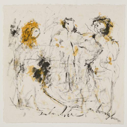 Anton Heyboer (Sabang (Indonesië) 1924 2005 Den Ilp) Three Graces. Signé (en bas…