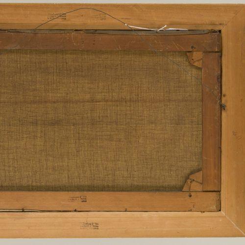 Schmitt, 19th/20th C., Shipping on the IJ, Amsterdam. 签名(左下),布面油画。Dim.40 x 60厘米。…