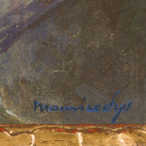 Maurice Sys (Gent 1880 1972), Homecomming smacks. . Signé (en bas à droite), tem…
