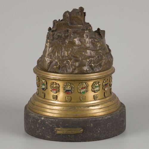 """Studentika"" A bronze commemorative sculpture for the ""Allgemeiner Landsmannscha…"