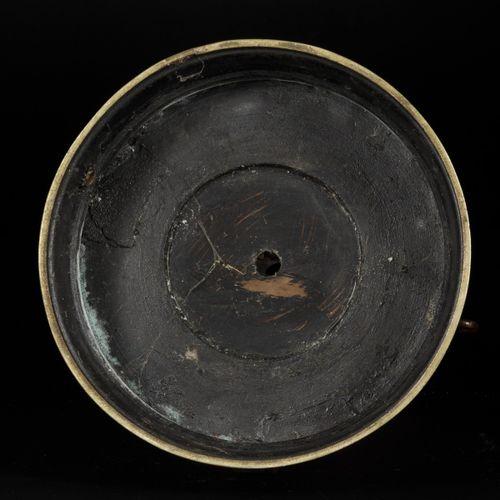 A cloisonne table piece, China, 19th century. Dim. 55 x 26 cm. Couvercle manquan…