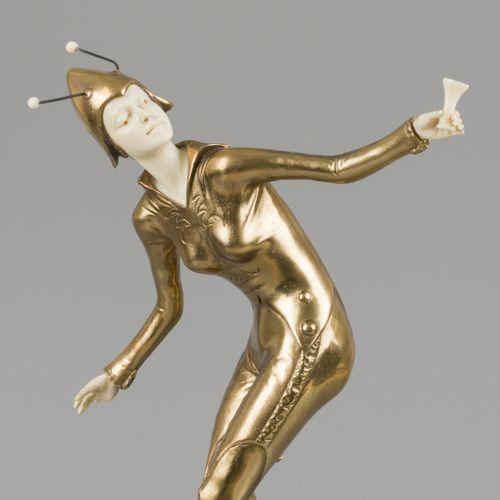 Johann Philipp Ferdinand Preiss (Germany, 1882 1943), A 'chryselephantine' sculp…