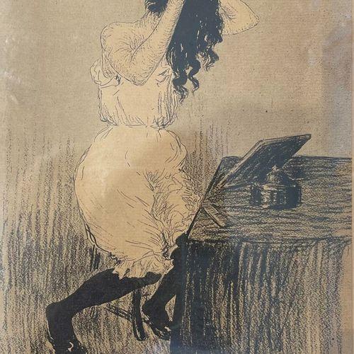 D'après Kees van Dongen (Rotterdam 1877 1968 Monte Carlo), A woman at a vanity t…