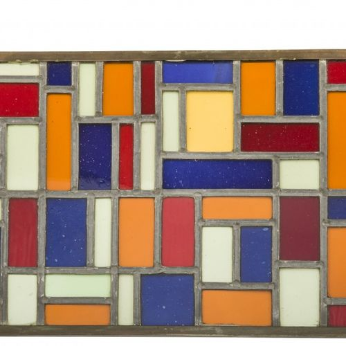 Theo van Doesburg (Utrecht 1883 1931 Davos), Composition VIII, a stained glass w…