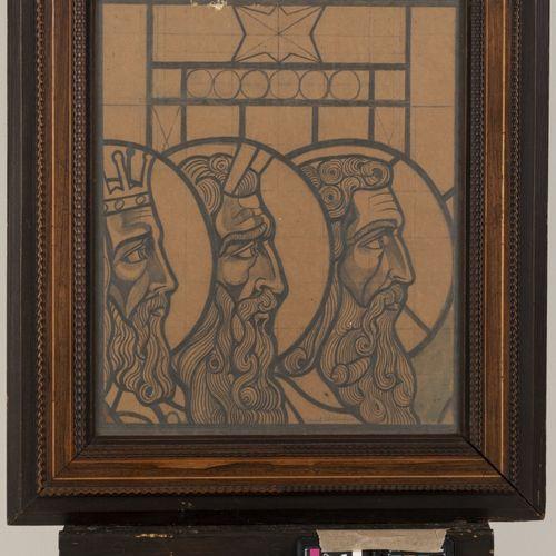 Lodewijk Schelfhout (Den Haag 1881 1943 Amstelveen), Three figures from the Old …