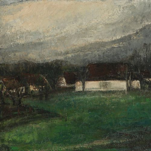Henriëtte Pessers (Tilburg 1899 1986),View of a farmhouse in a landscape. 签名(左下)…