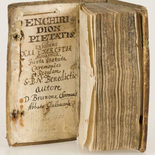 A manuscript containing the Regula Benedicti (Regels van Benedictus), Duitsland,…
