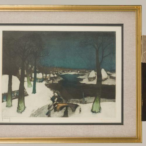Roger Hebbelinck (Brussel 1912 1987) Naar Albert Saverys (Deinze (België) 1886 1…