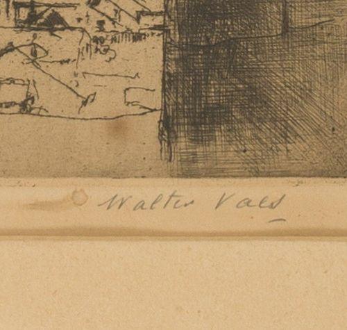 Walter Vaes (Borgerhout, Antwerpen 1882 1958), The bell and view of Walcheren, Z…