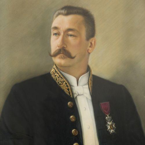 """Belgian School, ca. 1900. Portrait of a dignitary wearing the """"Ordre de Leopold""""…"""