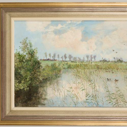 """Johannes Hendrik van Mastenbroek (Rotterdam 1875 1945), """"Een idyllisch plekje"""". …"""