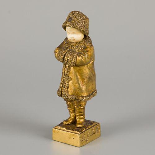 Joseph de Guluche (Plourivo (Côtes d'Armor) 1849 1915 Villejuif), a bronze statu…