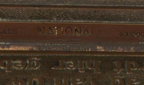 """A decorated """"National Dayton, Ohio"""" kassa, Verenigde Staten, ca. 1910. Marqué : …"""