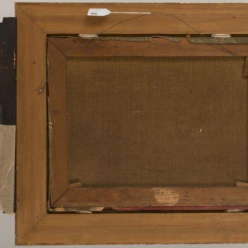 Lion Schulman (Hilversum 1851 1943 Auswitsch, Pl.), Figures in a boat in a forre…
