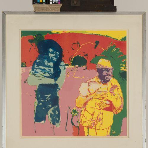 "Cornelis Bernardus ""Kees"" van Bohemen (Den Haag 1928 1985), Sans titre. Signée, …"