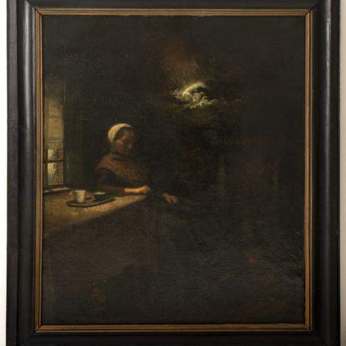 Johannes Jacobus Willem de Munck (Middelburg 1866 1943 Eindhoven), La rêve. Sign…
