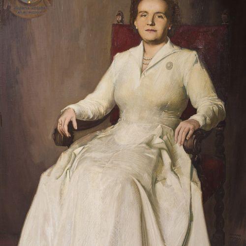 "Adrianus ""Marie"" van der Plas (Rotterdam 1899 1974 Kerkrade), Portrait of HRH Ju…"