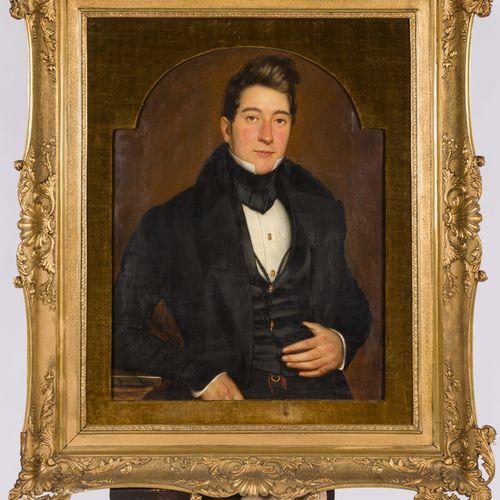 Jacques Verreyt (Antwerpen 1807 1872 Bonn, Du.), Portrait of a young nobleman. A…