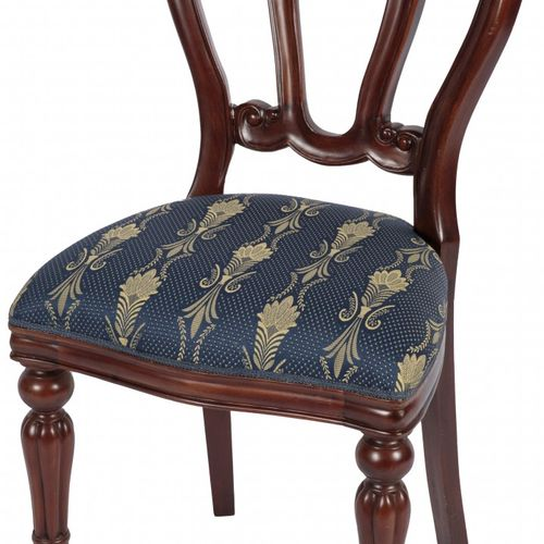 A set of (6) Willem III / Victorian style dining chairs, England, 20th century. …