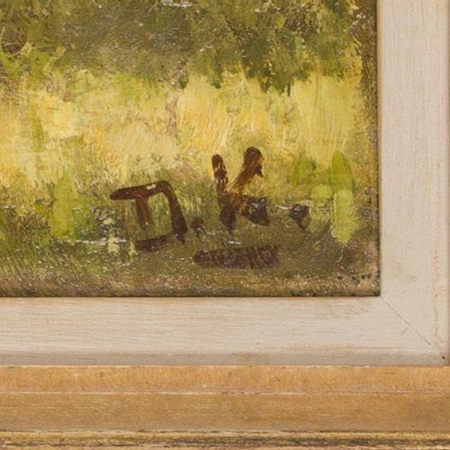 Attributed to Dirk Jan Koets (Wissenkerke 1895 – 1956 Veere), Corn sheaves. 签有首字…
