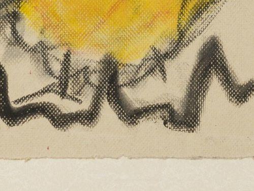 Anton Heyboer (Sabang (Indonesië) 1924 2005 Den Ilp) Rooster. 签名(中心下方),纸上粉笔和水彩,尺…