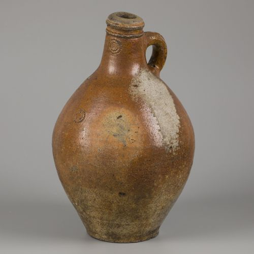 A stoneware jug with salt glaze, (Cologne/ Frechen), Germany, late 18th century.…