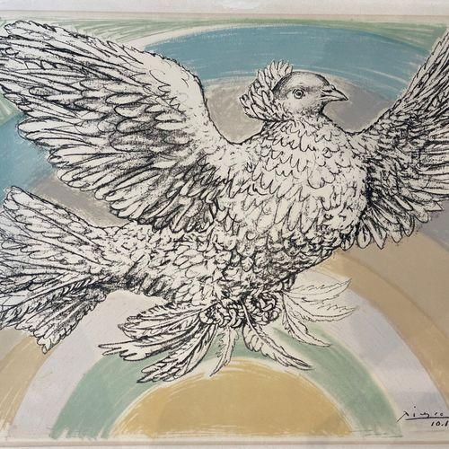 """Pablo Picasso (Málaga 1881 1973 Mougins), L'oiseau. Signé, et daté """"10 10 52"""" da…"""