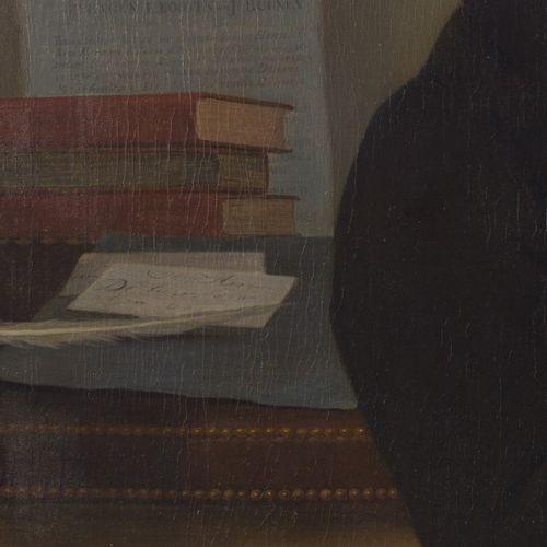 George Adam Schmidt (Dordrecht 1791 1844), Portrait of Govert Noteman. Signé et …