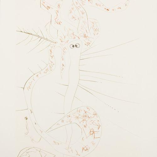 "Salvador Dali (Figueres 1904 1989), ""Tristal le Fou"", from the portfolio Tristan…"