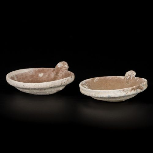 A lot comprised of (2) stoneware oil lamps Vung Tao Cargo (Christies 1992), Chin…