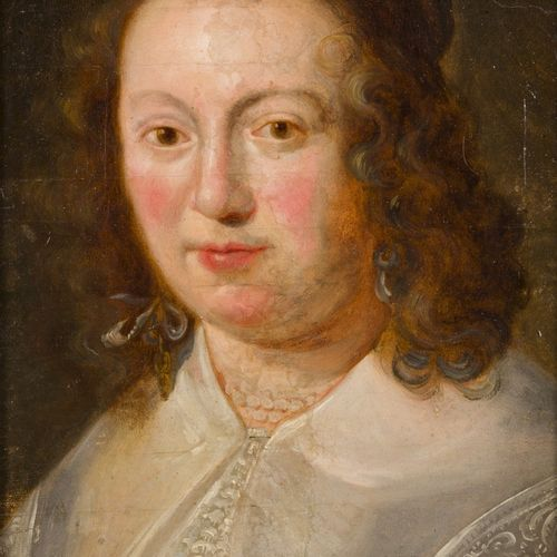 Follower of P.P. Rubens (Siegen, Ger. 1570 1640 Antwerp), Portrait of a lady. Hu…