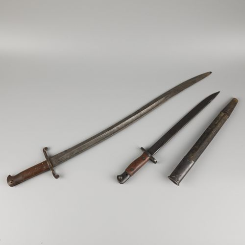 A lot comprised of (2) British bayonets, originating from the British armies, 1s…