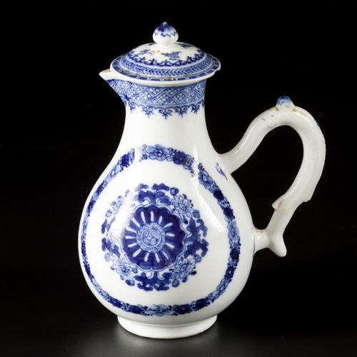 A porcelain pitcher with floral decoration for the Persian market, China, 18th c…
