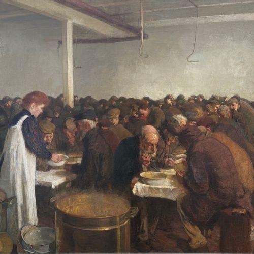 Ferdinand Gustaaf Willem Oldewelt (Amsterdam 1857 1935 Laren, NH), Food distribu…