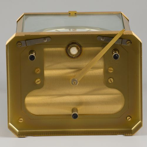 A Jaeger LeCoultre Atmos table clock, Switzerland, 20th century. Fonctionnement …