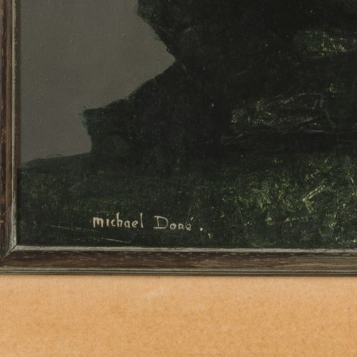 Michael Doré (B. 1922), A Still life with o.A. An owl, and a Jay (recto), And a …